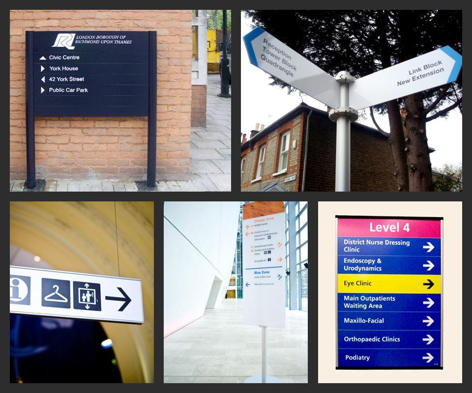 Wayfinding Signage Directional Signs Wayfinding Sign Design