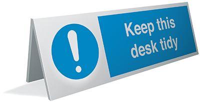 Desktop Signs