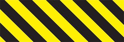 allsigns international ltd black yellow chevron