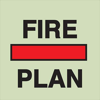 Fire Control Signs
