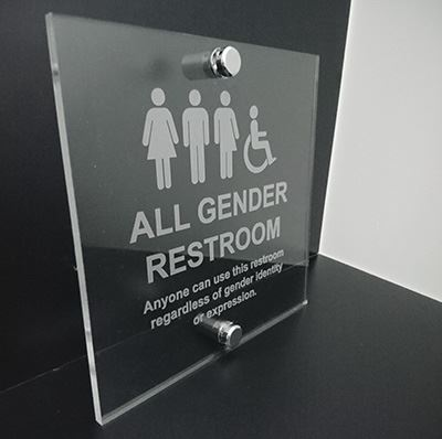 Gender-neutral Toilet Signs
