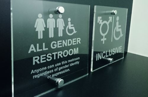 Gender-neutral Toilet Signs
